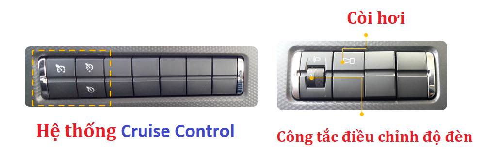 Hệ thống Cruise Control.