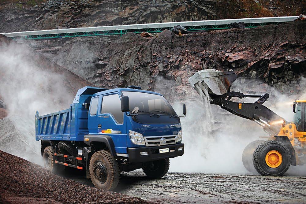 Xe ben Thaco Forland FD950 - 4WD 2